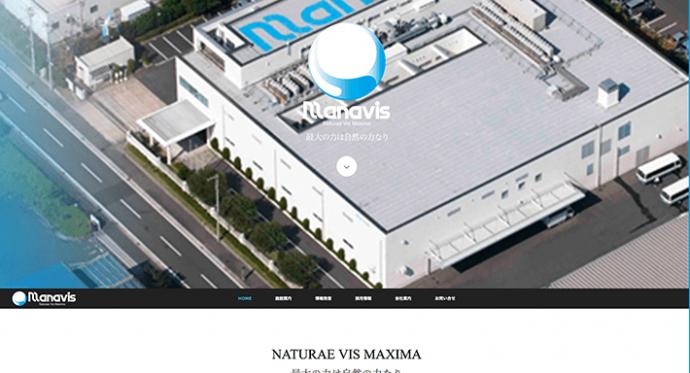 株式会社マナビス-ウェブサイト制作