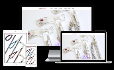 杖の通販・おしゃれステッキ専門店「素敵屋Alook」-ウェブサイト制作